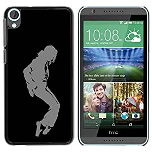 Planetar® ( MJ Dance Moves ) HTC Desire 820 Fundas Cover Cubre Hard Case Cover