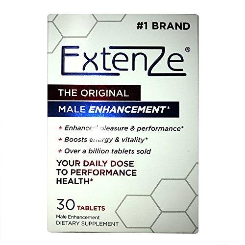 ExtenZe Maximum Strength Male Enhancement 6 Month Supply 6 X 30 Count = 180