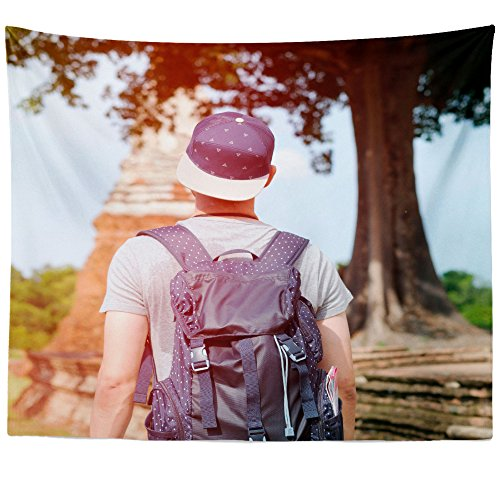 Westlake Art - Wall Hanging Tapestry - Girl Temple - Photography Home Decor Living Room - 51x60in
