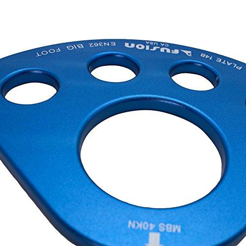 Fusion Climb Unisex Big Foot Rigging Plate