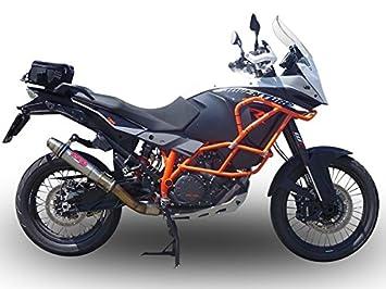 Gpr Italia KTM.76.1.De Terminal homologado con empalme KTM Adventure Lc 8 1090 2017/18 Euro 4 deeptone inoxidable: Amazon.es: Coche y moto