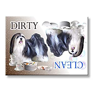 Havanese Clean/Dirty Dishwasher Magnet No 2 1