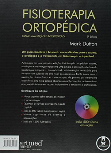 Fisioterapia Ortopédica. Exame, Avaliação e Intervenção[+CD]