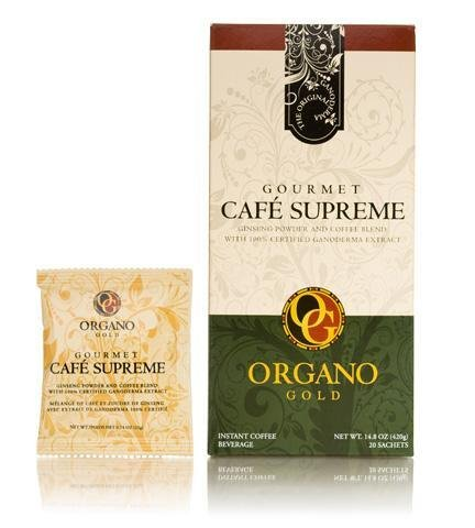 7 Box 100% Certified Organic Organic Ganoderma Gourmet Organo Gold Cafe Supreme Offer Free Express by Organo Gold