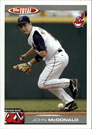 Amazoncom 2004 Topps Total Baseball Card 88 John Mcdonald