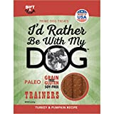 I'D Rather Be With My Dog Trainer Turkey Pumpkin Treat, 5 Oz