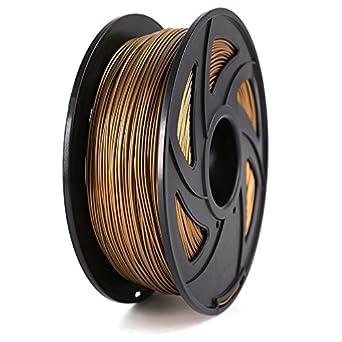 Filamento de impresora 3D, madera, 1,75 mm, PLA: Amazon.es: Amazon.es