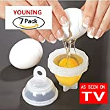 #8: YOUNING As Seen On TV Egg Cooker Get Hard Boiled Eggs Without The Shell (7pack)