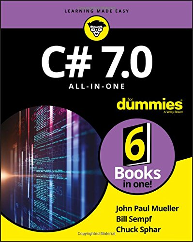 C# 7.0 All-in-One For Dummies by For Dummies