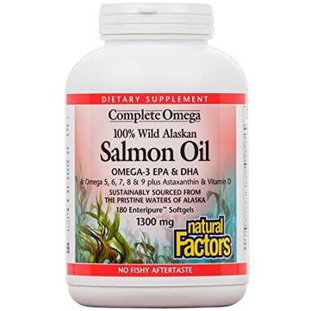Alaska salmon fish oil 100's - 5