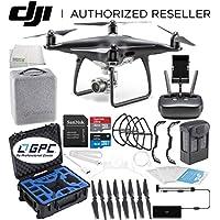 DJI Phantom 4 PRO Obsidian Edition Drone Quadcopter (Black) Premium Starters Bundle