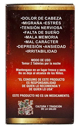 Amazon.com: Me Vale Madre Tablets - Stress, Anxiety, & Nervousness 60 Tablets: Health & Personal Care