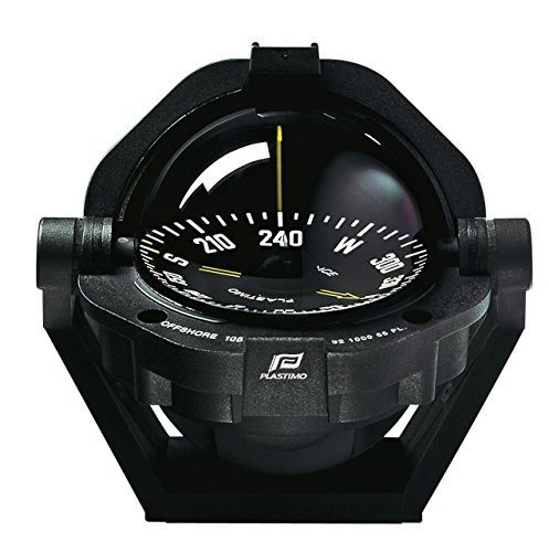 (Plastimo 65001 Unisex Adult Compass, Black)