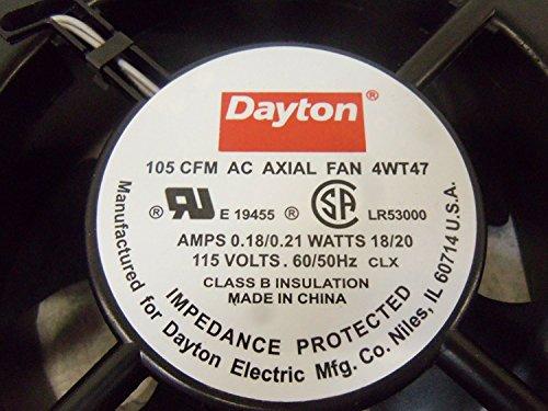 Dayton 4WT47 Fan, 105 CFM, 115V