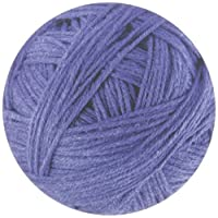 Rikki Knight Blue Ball of Thread Yarn Design Lightning Series Round Mouse Pad (RND-MP-212)