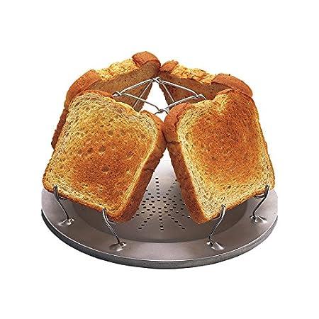 Coughlan's Camp Stove Toaster - Hornillo portátil para acampada, color plateado Coghlans 504D