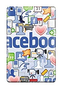 Top Quality Case Cover For Ipad Mini/mini 2 Case With Nice Facebook Appearance