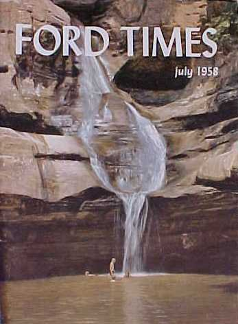Ford Times - July 1958