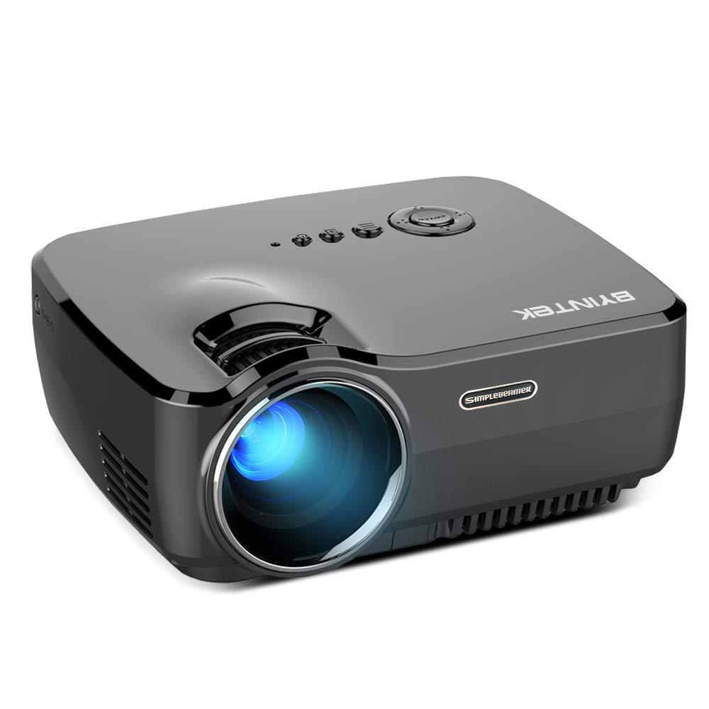 Linbing123 Mini proyector WiFi, proyector de Video LED de 4000 ...