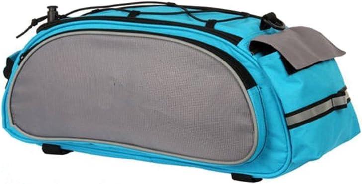 Bicycle Cycling Bike Storage Pannier Saddle Rack Rear Seat Bag Shoulder Handbag