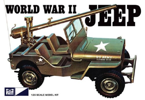 MPC World Military Jeep Model product image