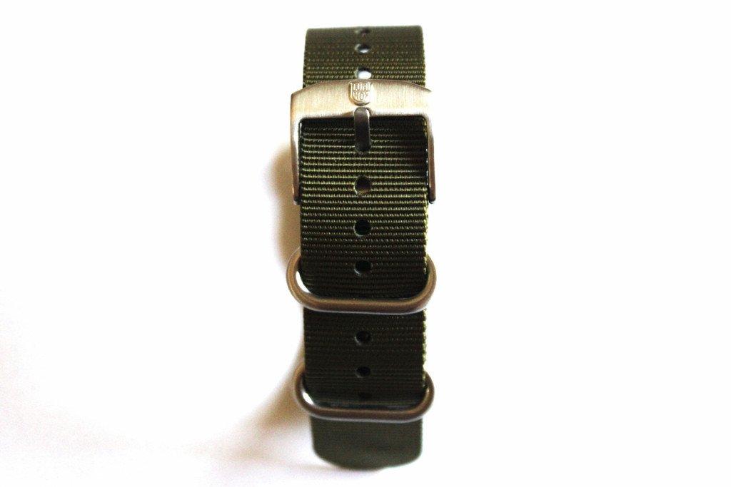 Genuine OEM Luminox 22mm NATO/ Zulu Strap Band - Military Green Fit Luminox 3050 3950 SEAL NAVY EVO COLORMARK FN.3900.60.2
