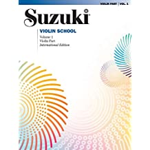 Suzuki Violin School, Vol 1: Violin Part