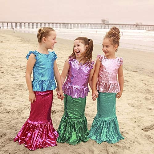 Amazon coupon code for Toddler Girl Mermaid Costume for Birthday Party