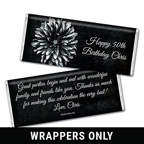 Personalized Birthday HERSHEY'S Chocolate Bars (25 (Personalized Chocolate Bar Wrappers)