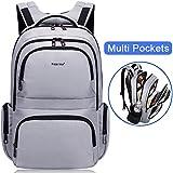 Kuprine Water Resistant Slim Business Laptop Backpacks for Men Lightweight College Computer Backpack