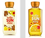 Cheap Bath and Body Works Hello SUN Shine Lotion and Shower Gel Set