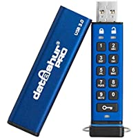 iStorage IS-FL-DA3-256-64 64GB 256-bit datAshur PRO USB 3.0 secure encrypted flash drive