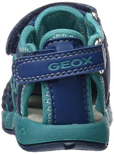 Geox B Sandal Multy Girl B, Botines de Senderismo para Bebés Azul (AVIOC4005)