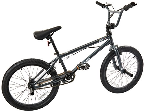 Mongoose Boys Data X 2.2 Freestyle Bicycle with 20″ Wheels, Grey Top Deals