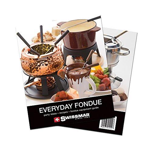 Swissmar Fondue Recipe Book (The Best Cheese Fondue Recipe)