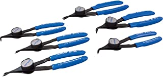Gray Tools 83306 6 Piece Convertible Retaining Ring Plier Set-Includes Plastic Case
