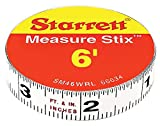 Starrett SM46WRL Measure Stix Permanent adhesive back Tape, 1/2'' x 6'