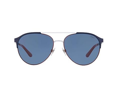 Amazon.com: Polo PH3123 936680-60 - Gafas de sol, color azul ...