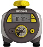 Nelson Lg Double Outlet Timer w/ LCD Screen
