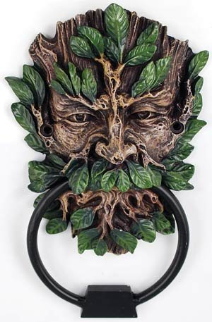 (Celtic Greenman Green Man Door Knocker)