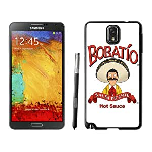 Hot Sale Samsung Galaxy Note 3 Case ,Popular And Unique Designed With Bob's Burgers 2 Black Samsung Galaxy Note 3 High Quality Cover