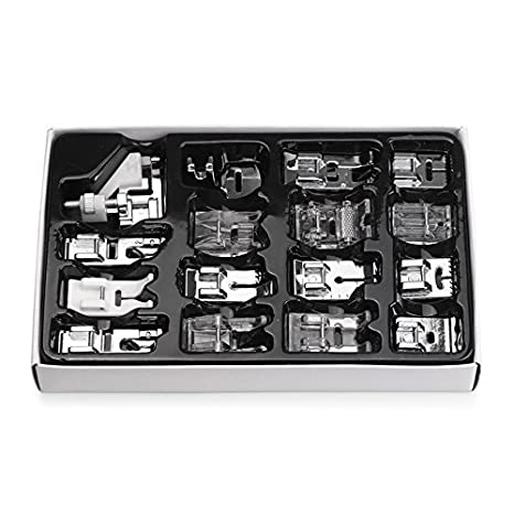 Kit de prensatelas para máquina de coser, piezas de repuesto y accesorios para máquinas Brother