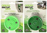 Green Biscuit Shooting and Stick Handling Training Pucks