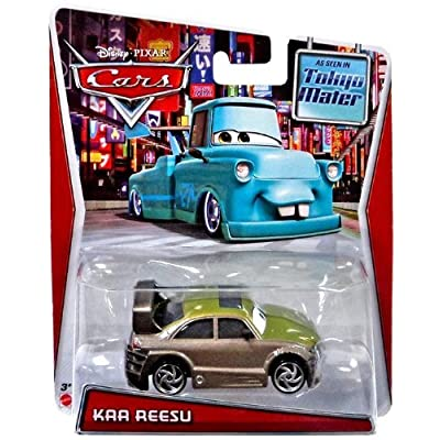 Mattel 2014 Disney Pixar Cars Tokyo Mater - Kaa Reesu: Toys & Games