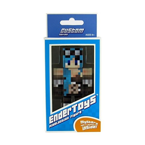 EnderToys Steampunk Girl Action Figure Toy, 4 Inch Custom Series Figurines 4