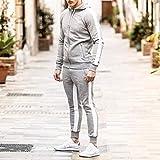 Ouber Men's Gym Jogger Pants Slim Fit Workout
