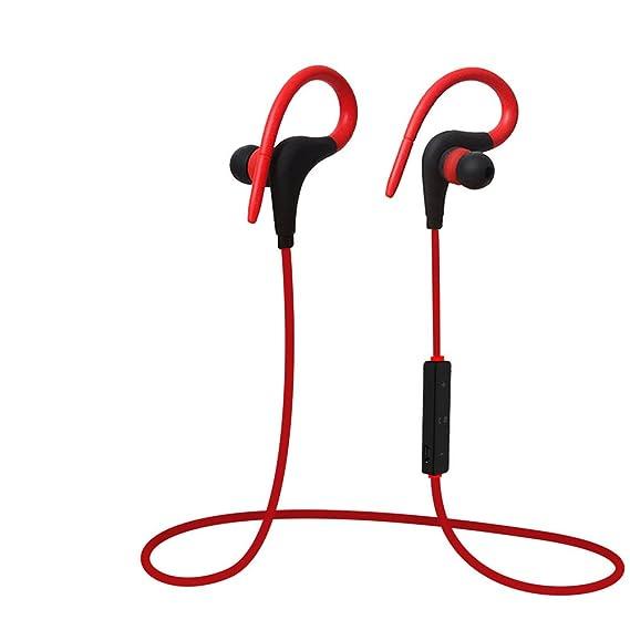 Axiba - Auriculares inalámbricos con micrófono HD estéreo, Resistentes al Sudor, para Gimnasio, Correr, Entrenamiento, cancelación de Ruido: Amazon.es: ...