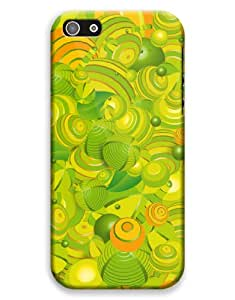 Green Fathom Pattern Case for your iPhone 5C