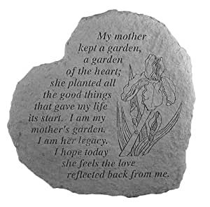 Heartful Thoughts - My Mother Kept A - Memorial Garden Stone