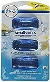 Febreze Small Spaces Bora Bora Waters Air Freshener Refills, 3 pack